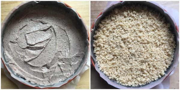 torta sbriciolata alla ricotta - procedimento 3