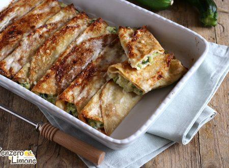 Crespelle alle zucchine e formaggio