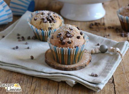 Muffin senza lievito al cioccolato