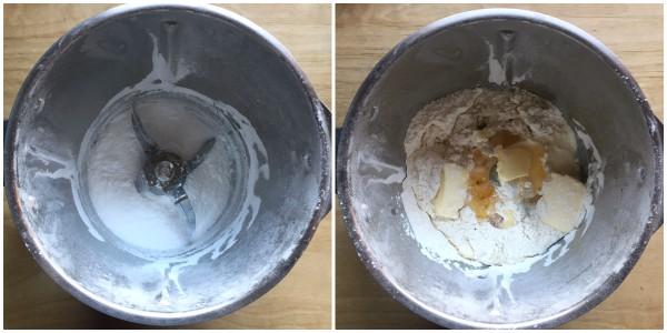 Savoiardi senza uova - procedimento 1