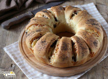 Ciambella di pan brioche – ricetta salata