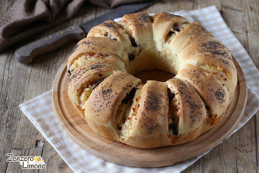 ciambella di pan brioche - intera