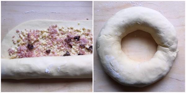 ciambella di pan brioche - procedimento 3