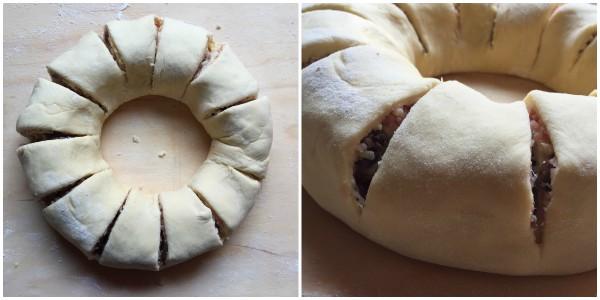 ciambella di pan brioche - procedimento 4