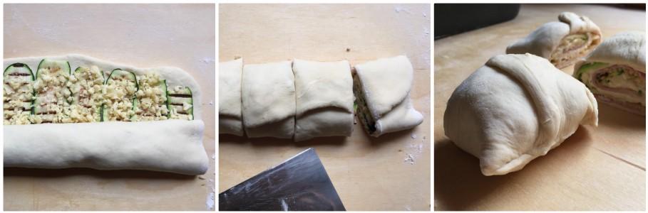 plumcake salato - procedimento 3