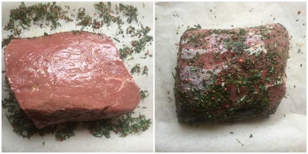 Roast beef alle erbe - procedimento 2