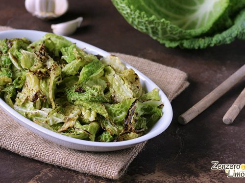 Contorno di verza – ricetta light