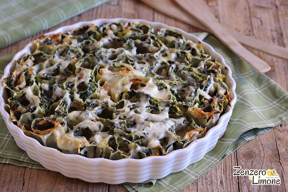 pasta ripiena con spinaci