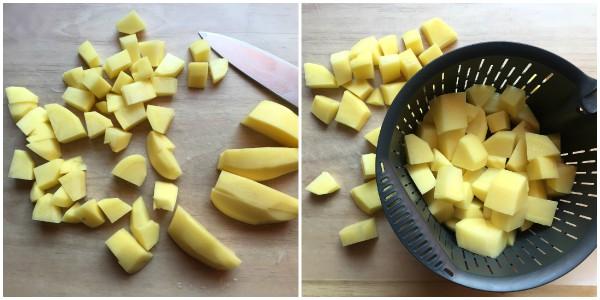 Cuocere le patate con il bimby - procedimento 1