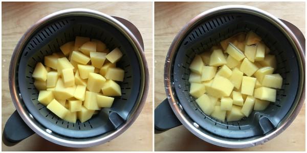 Cuocere le patate con il bimby - procedimento 2