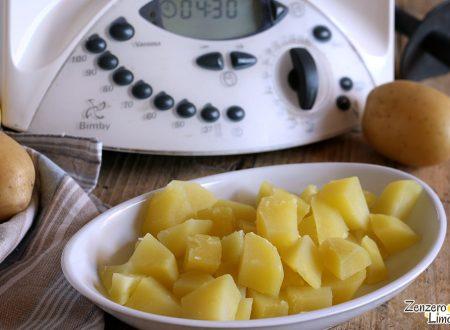 Come cuocere le patate con il Bimby