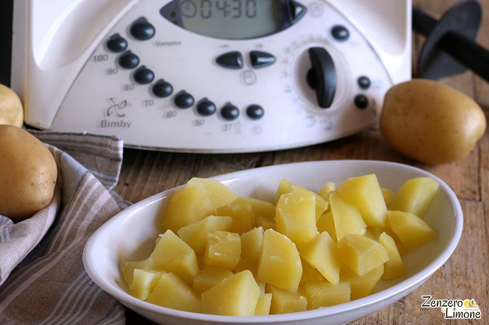 cuocere le patate con il Bimby