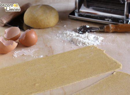 Pasta fresca all'uovo, ricetta base per la sfoglia