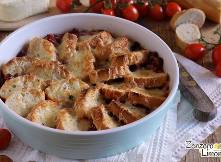 Teglia di pane al pomodoro