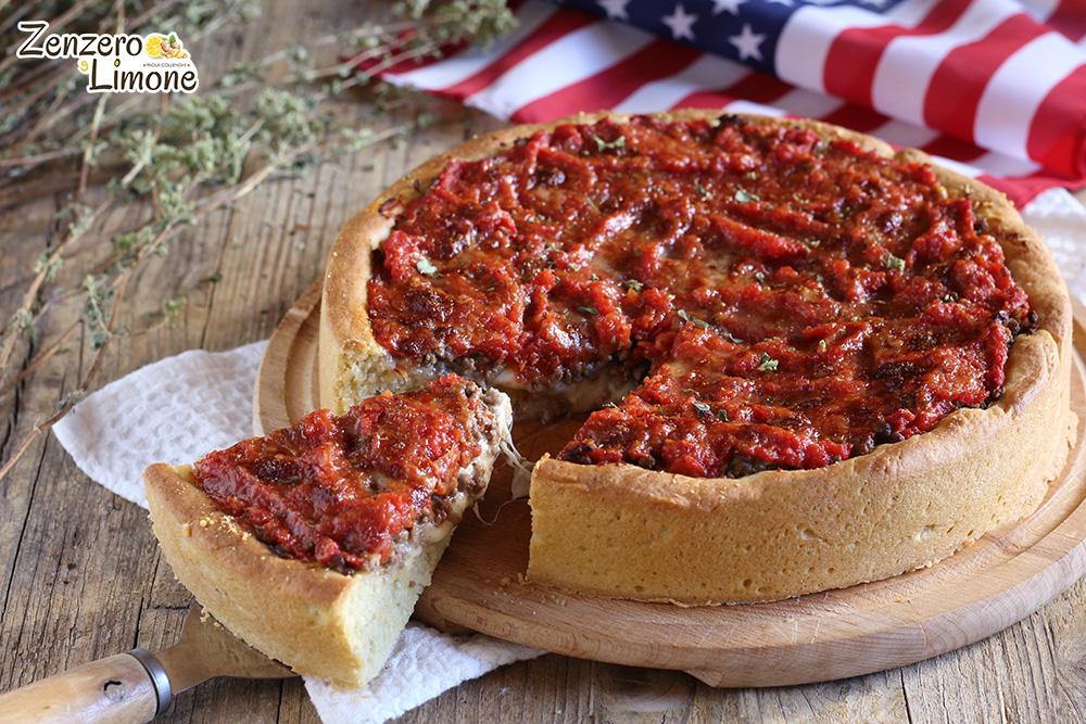 pizza Chicago - fetta