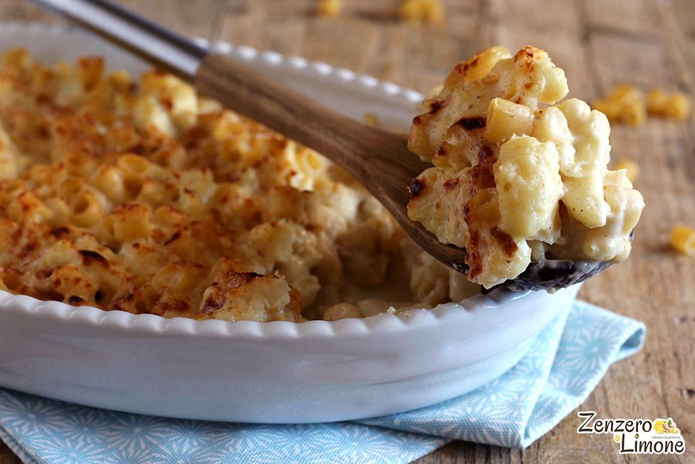 Mac and Cheese con cavolfiore - dettaglio