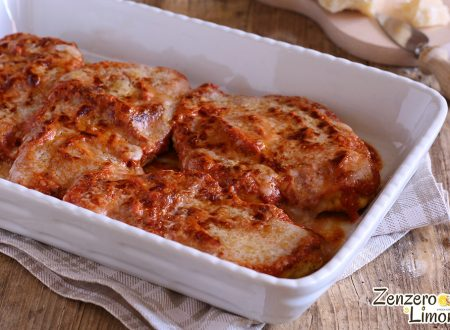 Petto di pollo al Parmigiano – Chicken Parmesan