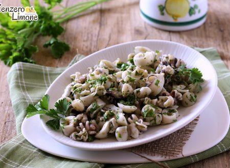 Seppioline in insalata
