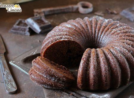 Ciambella al cioccolato fondente