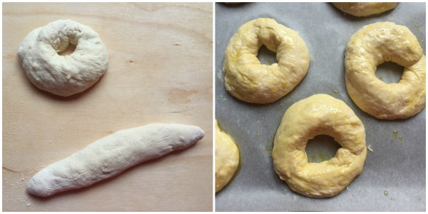 ciambelle di patate - procedimento 4
