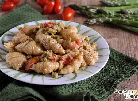 Pasta agli asparagi e pomodorini