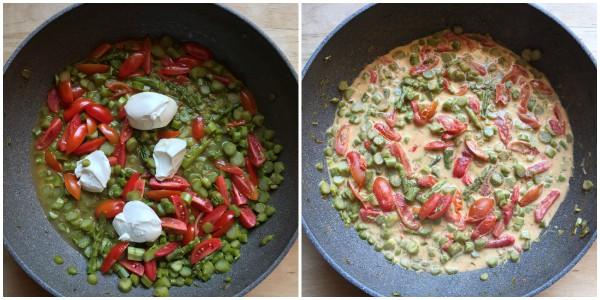 pasta agli asparagi - procedimento 4