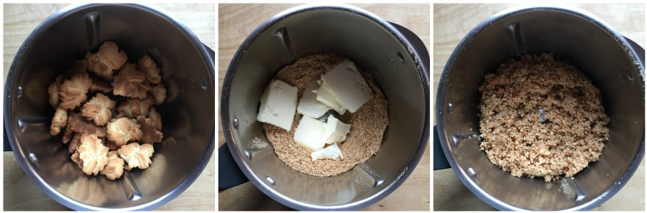 Cheesecake alla nutella - procedimento 1
