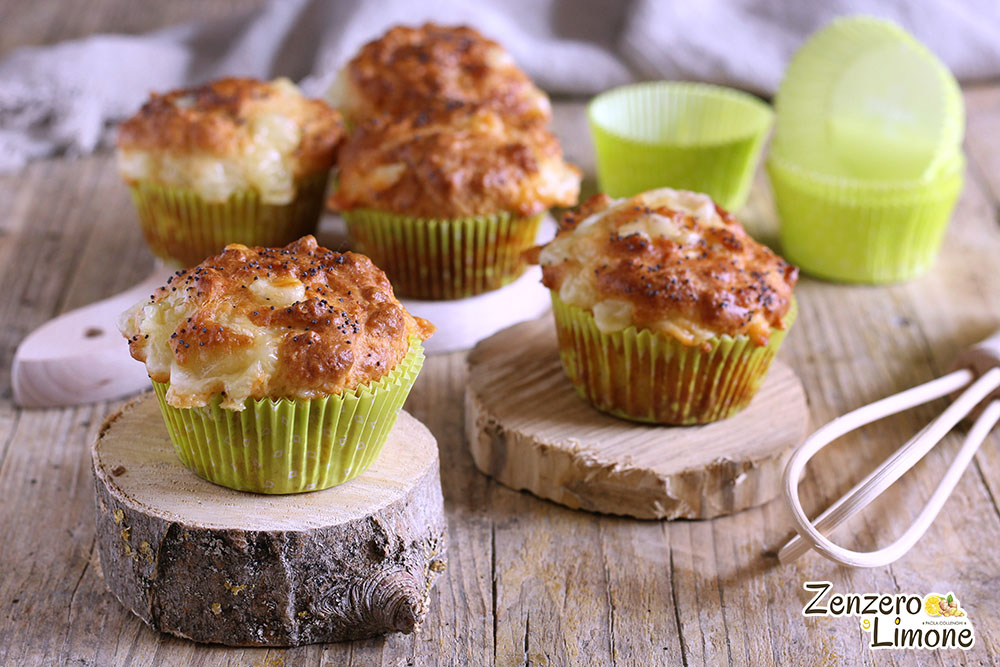 Muffin ai formaggi