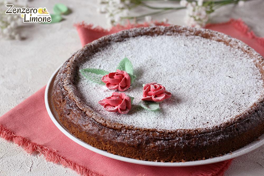 cheesecake alla nutella - intera