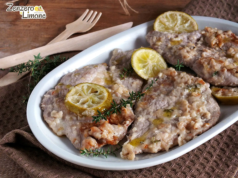 scaloppine di vitello al lime