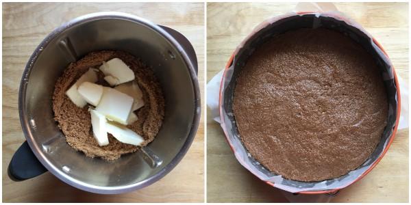 Cheesecake ai kiwi - procedimento 2