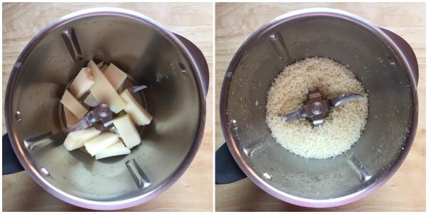 Ciambella al formaggio e rosmarino - procedimento 1