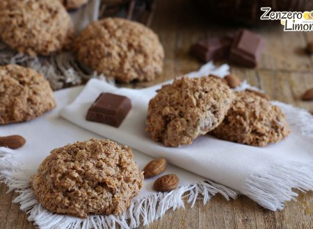 Dolcetti con cioccolato, mandorle e cocco, ricetta senza burro