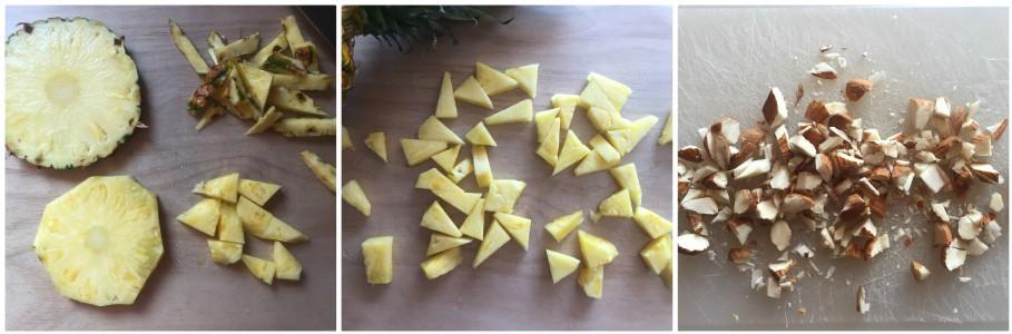 dessert con ananas - procedimento 1