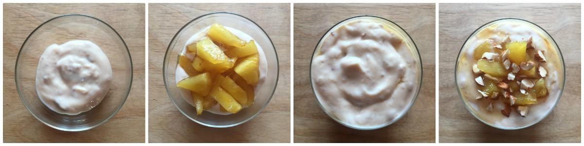 dessert con ananas - procedimento 4