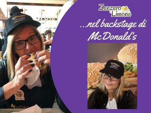 Nel backstage di McDonald's