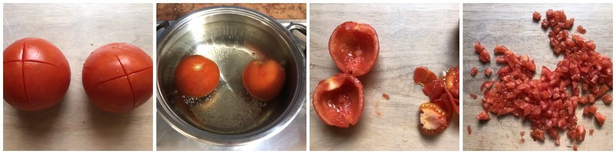 melanzane ripiene - procedimento 2