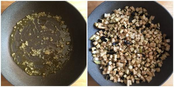 pasta con sugo di verdure - procedimento 2