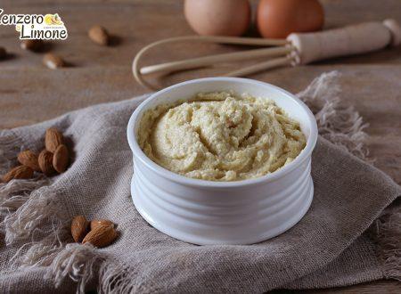 Crema frangipane senza glutine