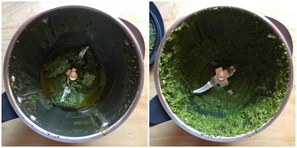 pesto alla genovese - procedimento 2