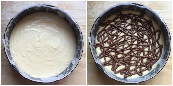 torta veloce alla nutella - procedimento 4