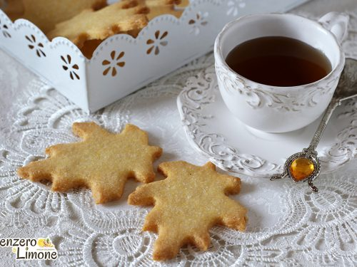 Biscotti con farina gialla