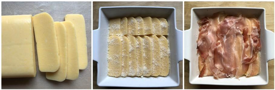 Gratin di polenta - procedimento 1