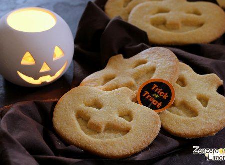 Jack o' lantern cookies