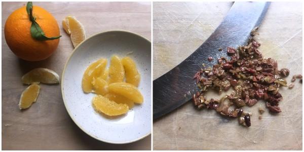 Filetto di branzino all'arancia - procedimento 1