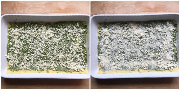 Lasagne con pesto di cavolo nero - procedimento 4