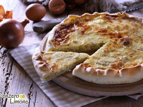 Quiche alle cipolle e formaggio