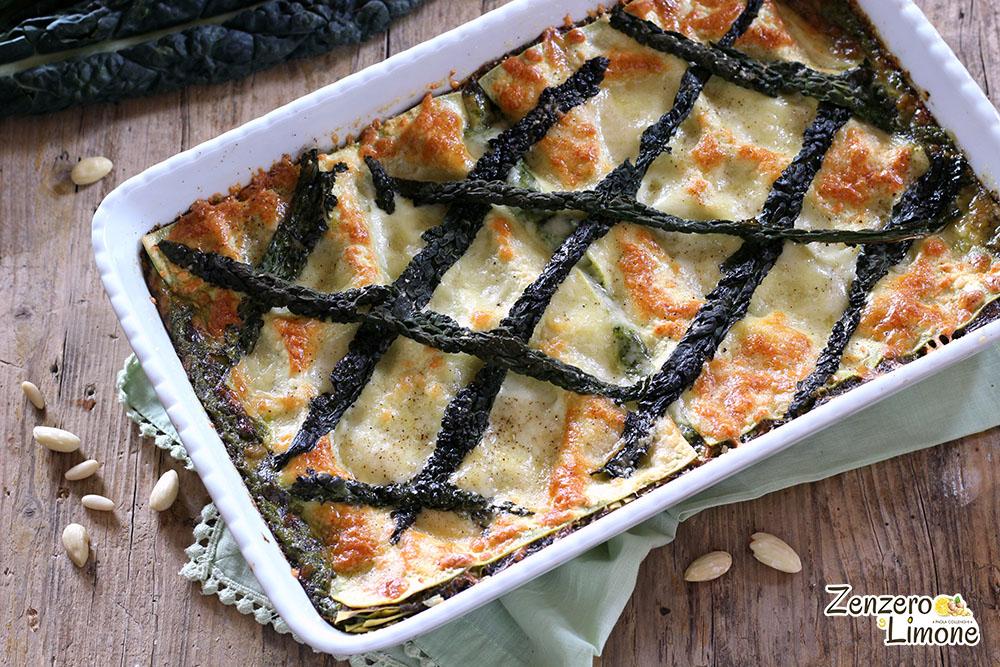 lasagne con pesto di cavolo nero - procedimento 5