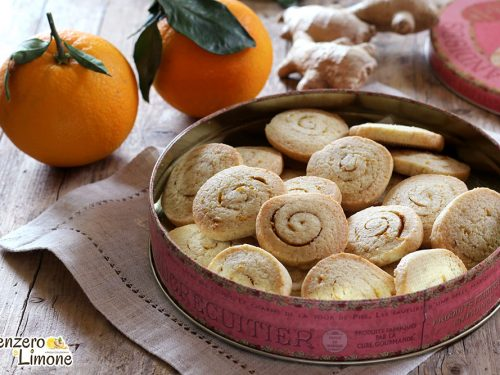 Biscotti zenzero e arancia