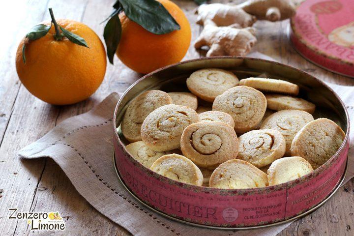 Biscotti zenzero e arancia Natale